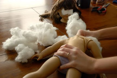 fix broken american girl doll
