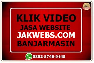 Jasa pembuatan website murah Banjarmasin