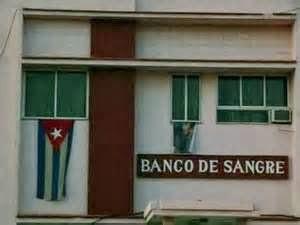 """"""" Os Doadores cubanos ignoram que seu governo usa seu sangue como matéria-prima para um comércio internacional florescente . """""""