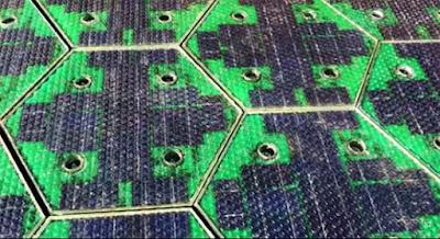 França instal·larà 1.000 km de carreteres solars amb panells en els propers 5 anys