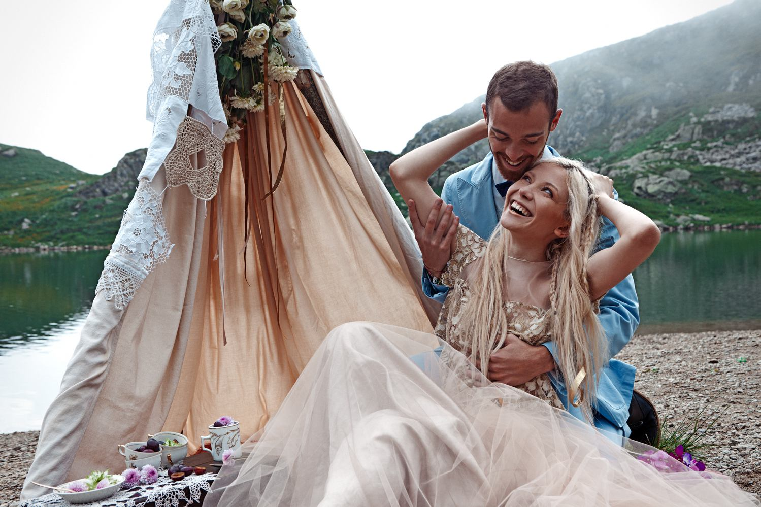 Il Mio Matrimonio Gipsy : Matrimonio ecologico il look della sposa gipsy pensato da monica