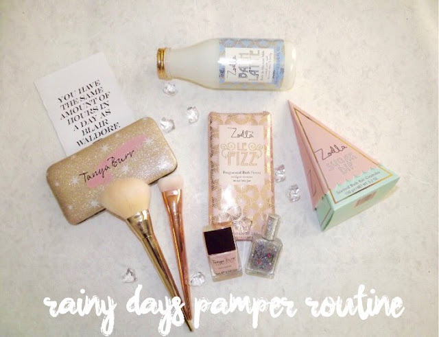 This pamper routine isn't for everyone, you may put your own twist on things with other products, this is just how I do it.