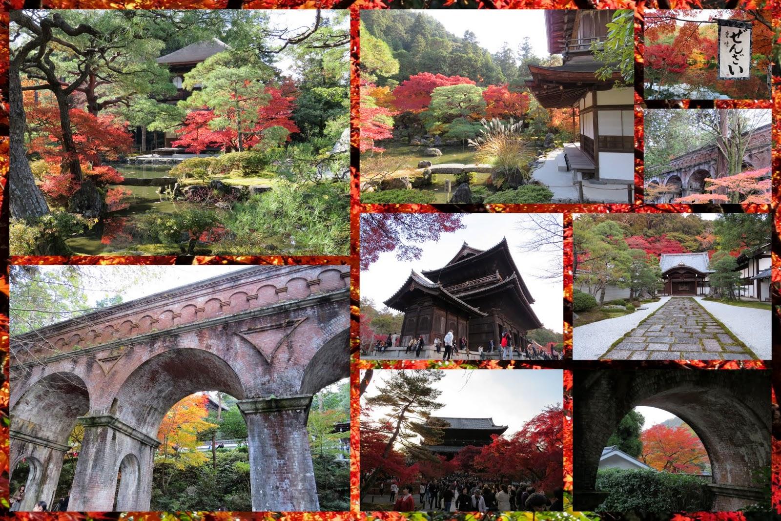 Nanzen-ji Temple with Aqueduct in Kyoto