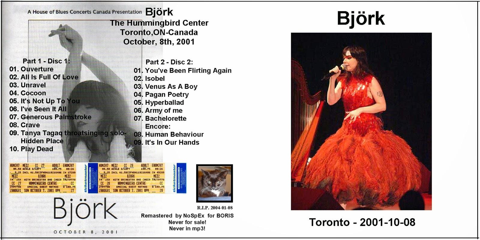 björk guðmundsdóttir: Björk - Live @ Hummingbird Center