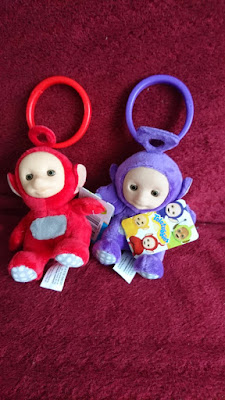 teletubbies clip on toys