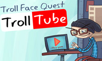 Trollface Quest TrollTube Awesome Puzzle Online Games Free Play