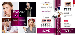 CATALOGUL ORIFLAME nr.1 21 ianuarie 2019 creion ochi the one