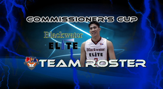 List of Blackwater Elite Roster (Lineup) 2017 PBA Commissioner's Cup