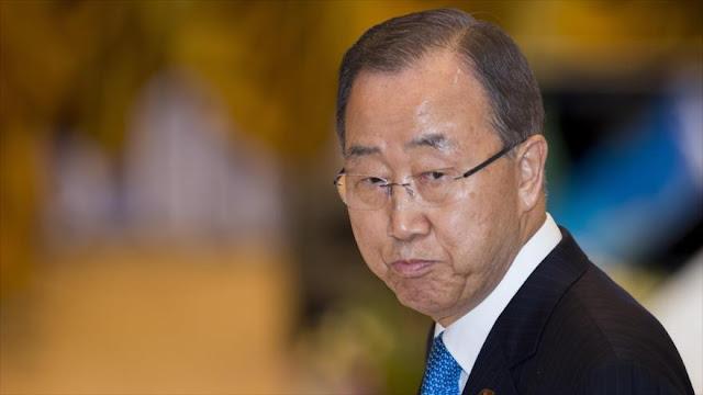 Ban responde rotundamente a acusaciones de Netanyahu contra palestinos
