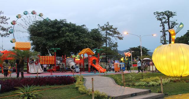 Area Tempat Bermain Anak di Alun-Alun Kota Batu
