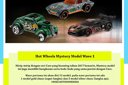 Hot Wheels Mystery Model 2018 Wave 1 : Race Day