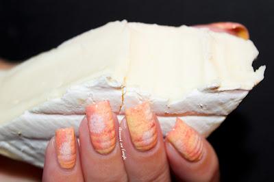 Cheese Nail Art