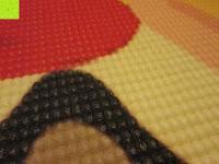 """Muster: Yogamatte """"Yoganidra"""" Die ideale Yoga- und Gymnastikmatte für Yoga-Einsteiger. Maße: 183 x 61 x 0,4cm / Eulenmuster"""