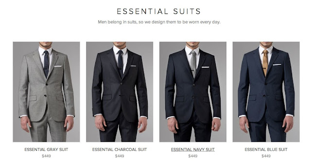 Indochino Black Suit Alternatives