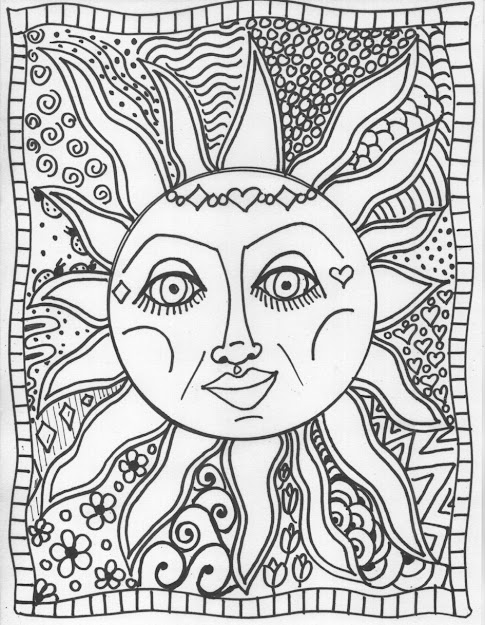 Psychedelic Coloring Pages Psychedelic Sun Coloring Pages Pesquisa Do  Google Coloring For Drawing