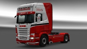 Devil Red G Scania RJL skin mod
