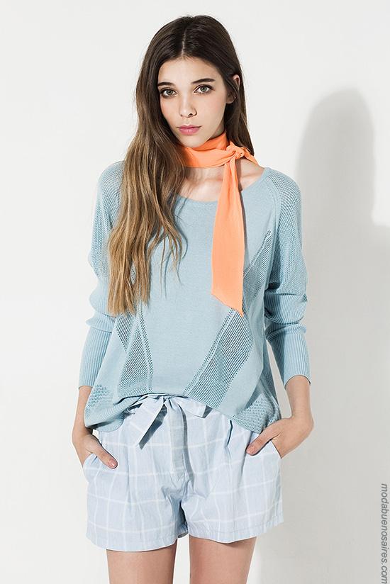Sweaters de hilo moda mujer verano 2017 ropa de moda 2017.