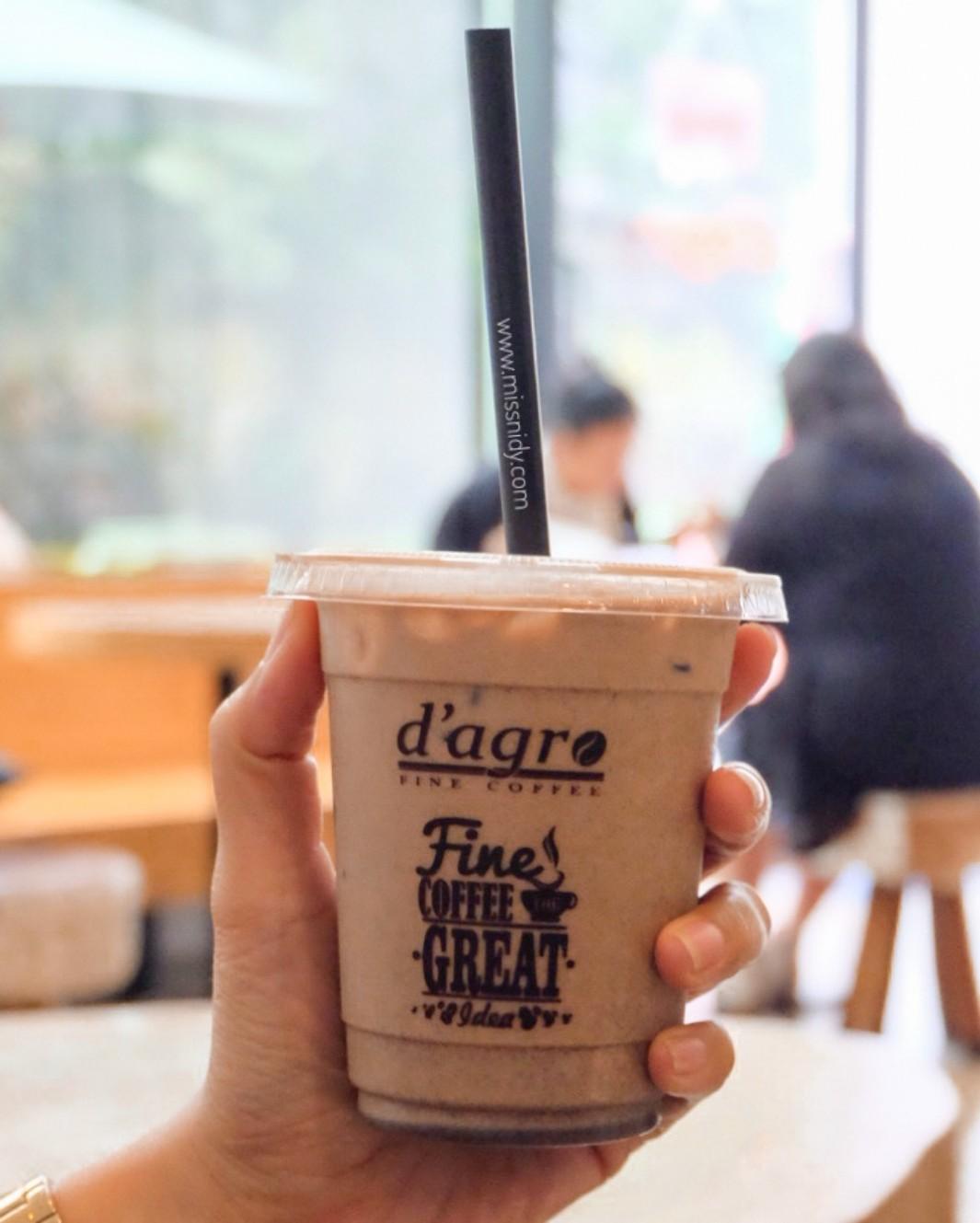 harga menu d'agro coffee kuningan agro plaza