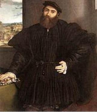 Portrait of Mercurion Bua by Lorenzo Lott.