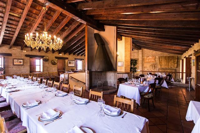 Salón de arriba del restaurante lluna de Valencia