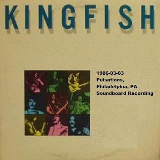 Kingfish - 1986-03-03 - Philadelphia, PA (SBD)