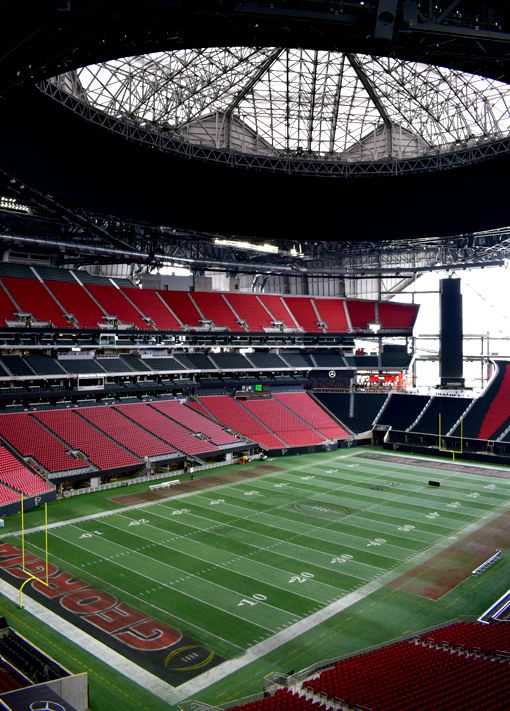 Mercedes-Benz Stadium Tour | Photo: Travis S. Taylor