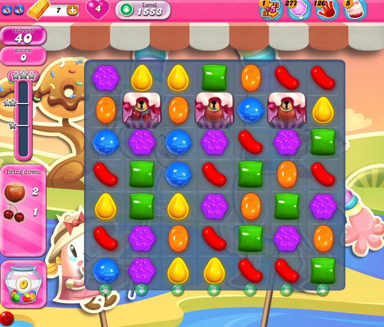 Candy Crush Saga 1553