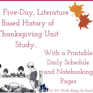 Literature-Based Thanksgiving Unit Study
