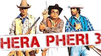 full cast and crew of bollywood movie Hera Pheri 3! umd, story, poster, trailer ft Sunil Shetty, John Abraham, Abhishek Bachchan, Paresh Rawal