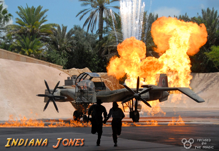 Indiana Jones Stunt Spectacular