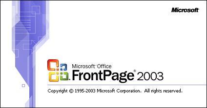 Microsoft FrontPage 2003 product key