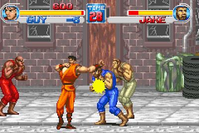 【GBA】街頭快打ONE,Capcom經典動作遊戲!