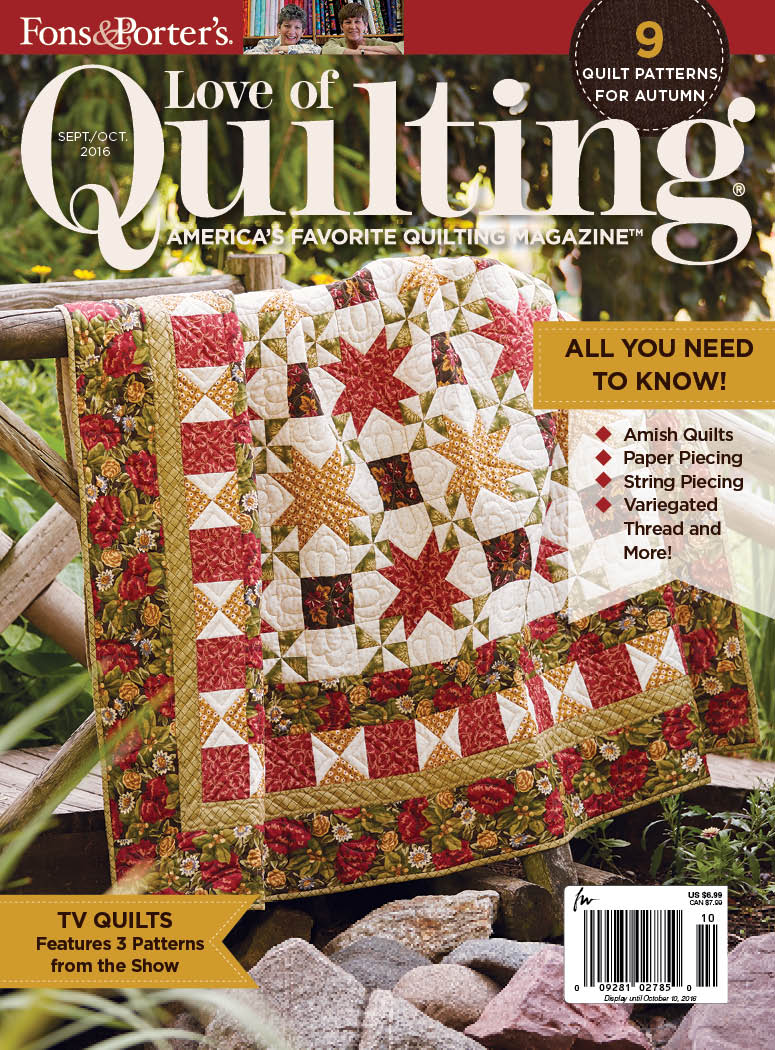 Sash Gals Love Of Quilting