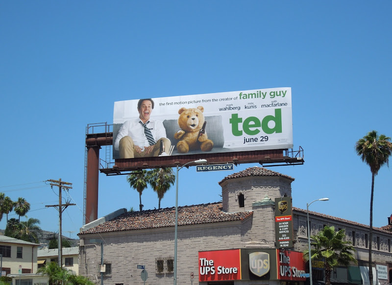 Ted billboard