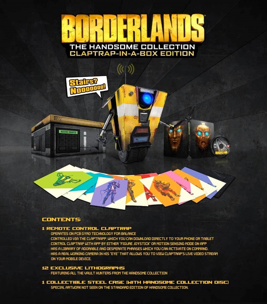 Série Borderlands para PlayStation 4 e Xbox One