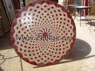 2012 Tables En Zellige Marocain Tables Zellij Moroccan