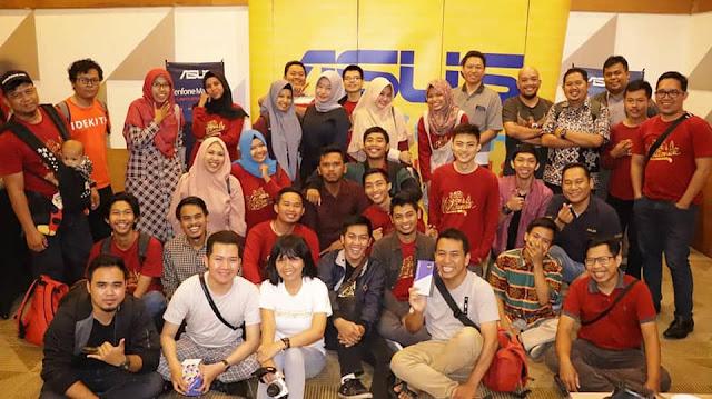 ASUS Zenfone Max Pro M1 Blogger Gathering Pontianak