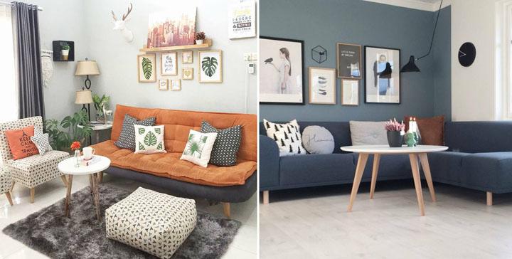 Tips Simple Gantung Poster/Hiasan Dinding Belakang Sofa Ruang Tamu