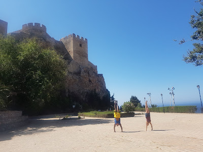 Checking out the castle of Salobreña from a different angle