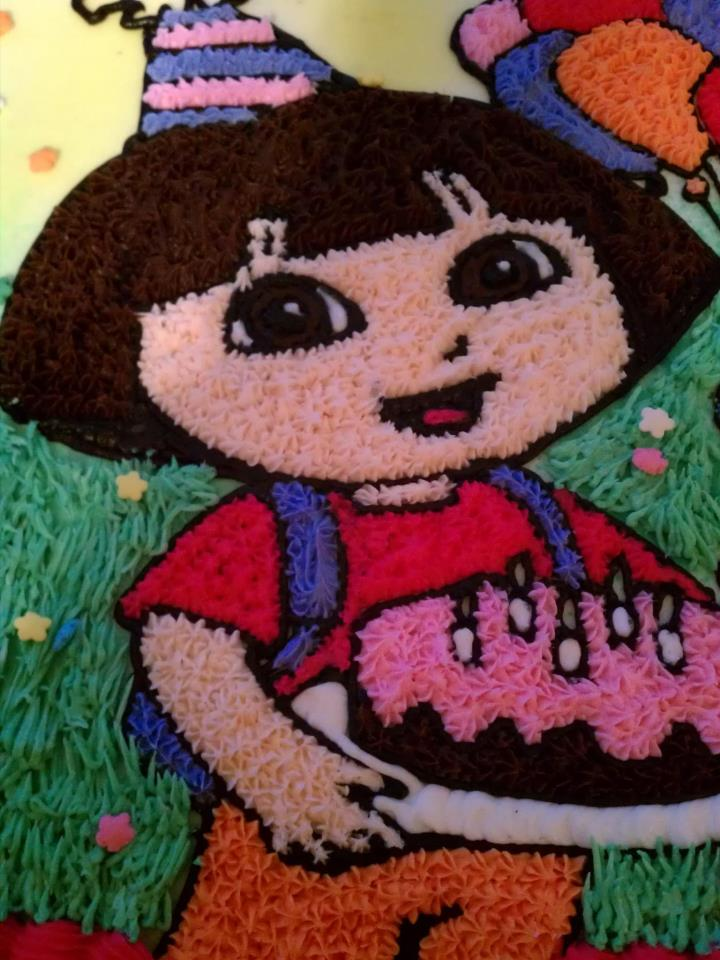 Introducing Dora And Boots Cake Backpack Cake Pops