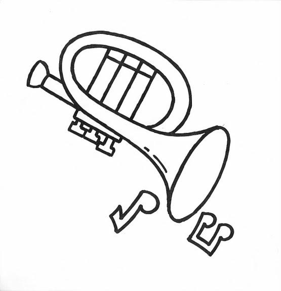 dibujos infantiles dibujo infantil trompeta