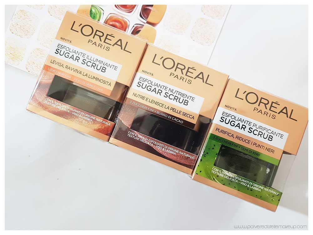 Sugar Scrub L'Oréal Paris esfolianti viso e labbra