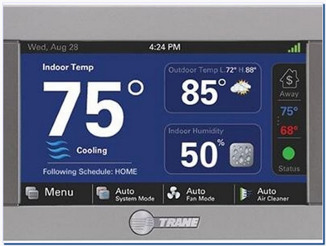 Trane Wifi Thermostat xl824