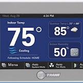 Trane Wifi Thermostat xl824
