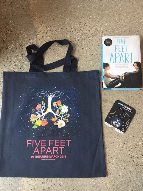 Five Feet Apart is in Theaters on March 15th! + Giveaway
