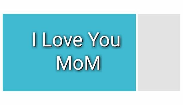 आई लव यू माॅम | I Love You Mom Heart Touching Story In Hindi