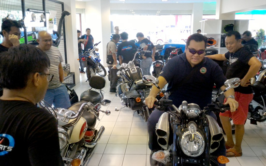JAW POWER SPORTS OPENS SHOWROOM IN DAVAO