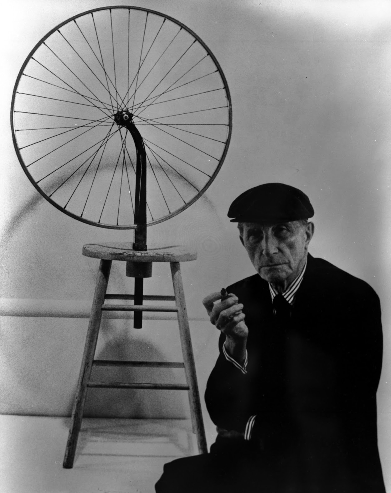 Marcel Duchamp, Dada, ready made, roue de bicyclette, 1913