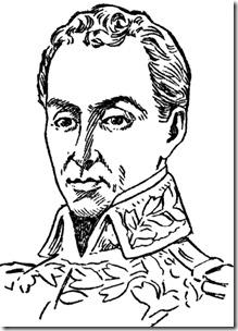 Simon Bolivar Dibujo Para Colorear Es Para Colorear