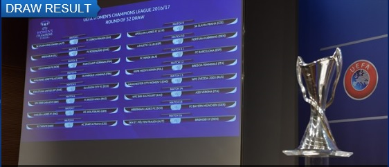 Uefa Womens Champions League 2016 17 Draw Results Fixtures Dates On 5   Another Wolverines Knock Out Clash For Chelsea Ladies